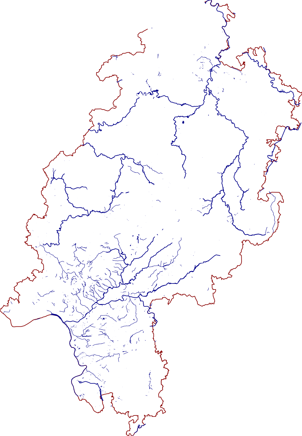 map of hessen